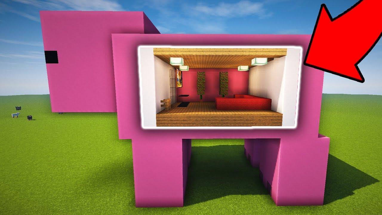 Comment vivre dans un cochon sur minecraft youtube - Minecraft cochon ...