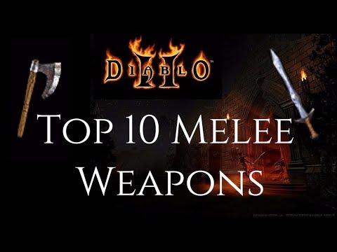 Top 10 Melee Weapons - Diablo 2