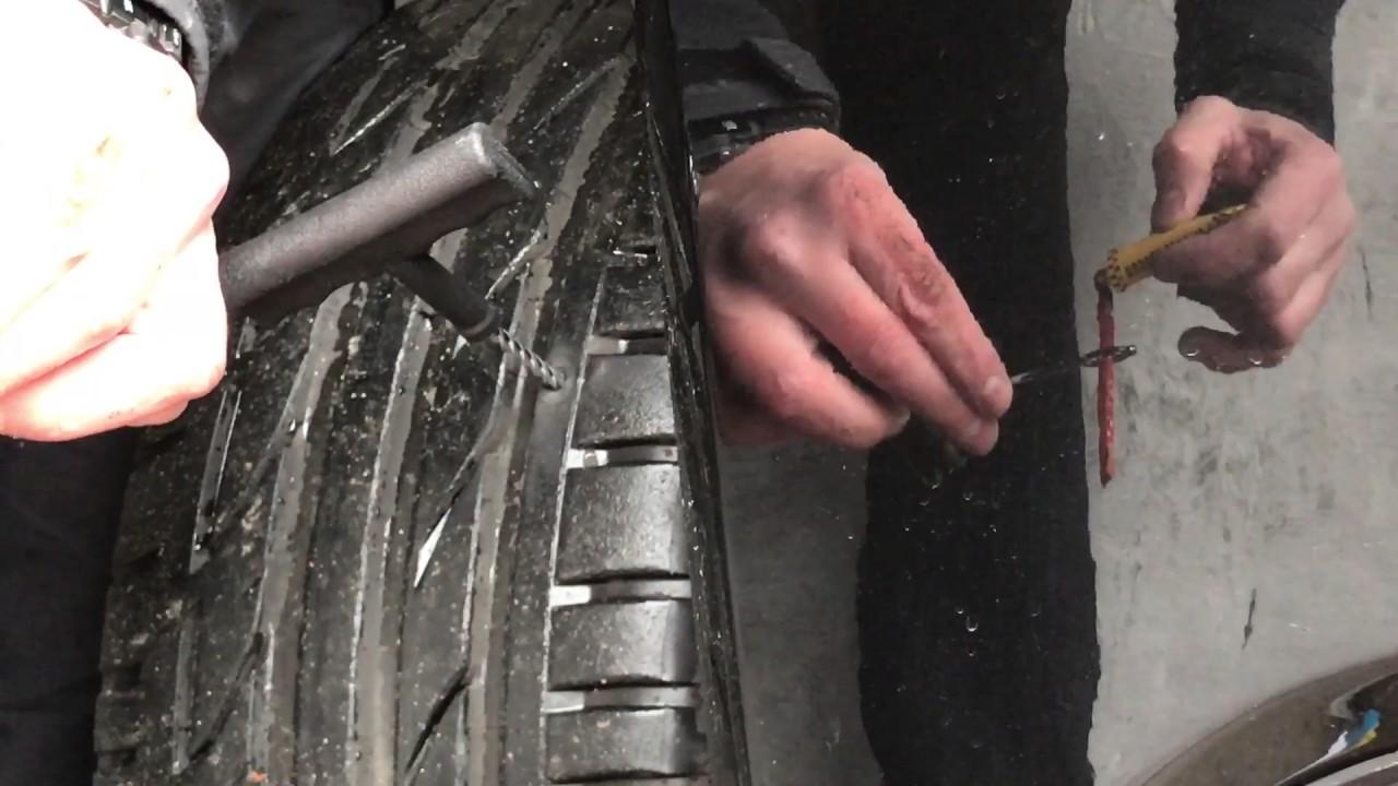 Fix a flat tire mercedes benz youtube for Mercedes benz flat tire