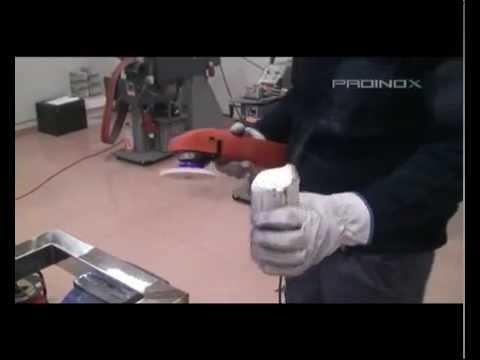 Proinox acabado pulido espejo sistema magic copa sobre acero inoxidable viyoutube - Pulir aluminio a espejo ...