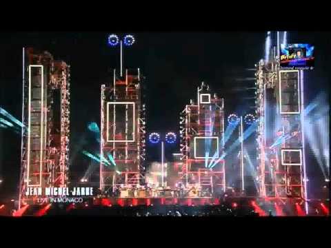 Jean-Michel Jarre - Live in Monaco 01-07-2011 HD ( clip hd stereo )