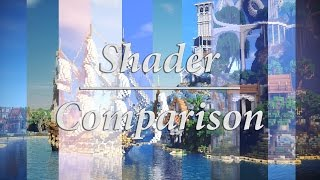 BEST MINECRAFT SHADERS OF EARLY:2017 - Cinematic Comparison | 4K 60fps