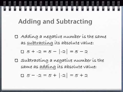 Pre-Algebra Made Easy: Subtracting Negative Numbers (Lesson 8)