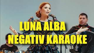 Luna Alba - KaraokeInstrumental (ELENA GHEORGHE)
