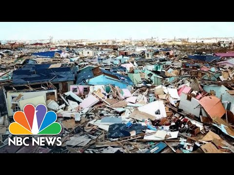 Drone Video: Bahamas' Marsh Harbour Destroyed By Hurricane Dorian | NBC News