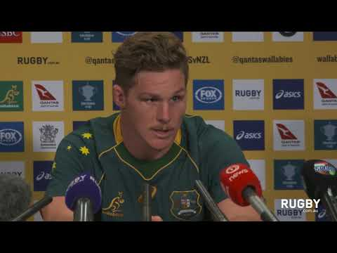 Full press conference: Wallabies captain's run