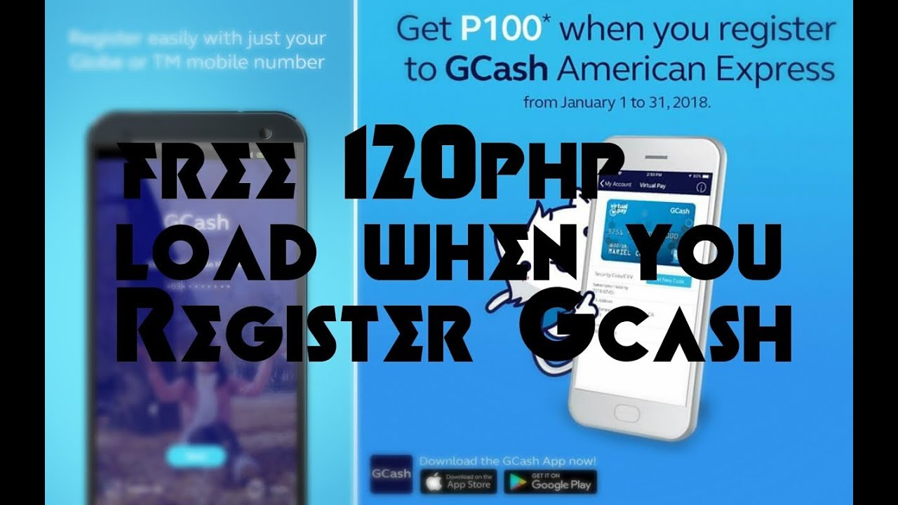 FREE 120PHP LOAD IN GCASH