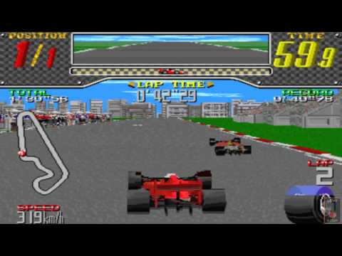 Racing Beat - Taito Z System Hardware - France - Corrida completa/Full race