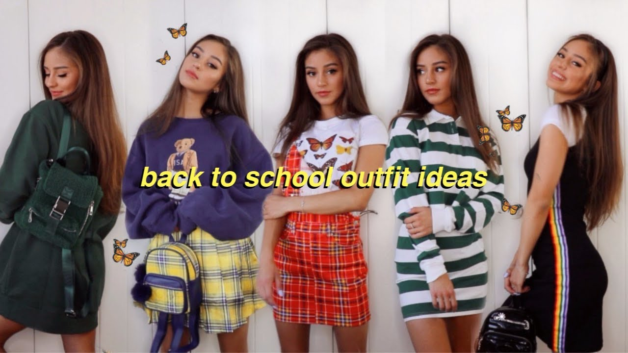 [VIDEO] - Back To School Outfit Ideas! 4