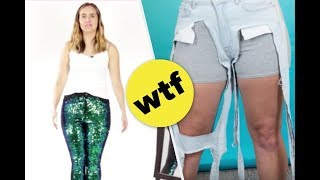 Sarah Tries The Most Extreme Pants On the Internet