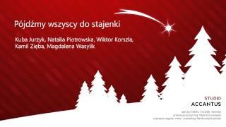 Studio Accantus - Kolędy polskie