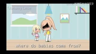Where Do Babies Come From?//Gacha Life/Mini Musi Video//