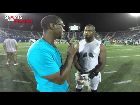 Jelani Jenkins Post Scrimmage Interview
