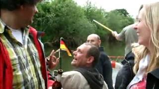 Floßfahrt Werra 2010