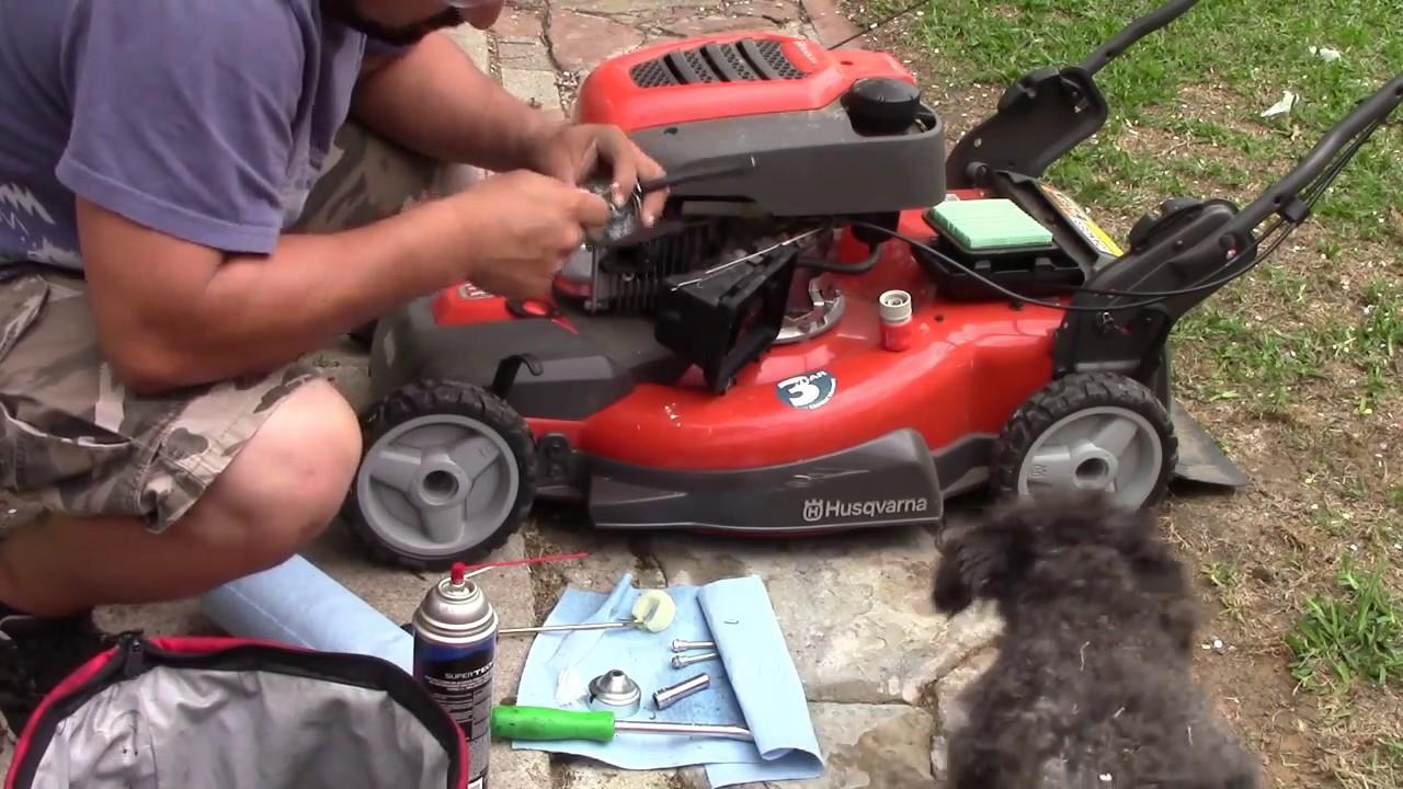 Como arreglar una podadora Husqvarna que prende y se apaga a20daf810782