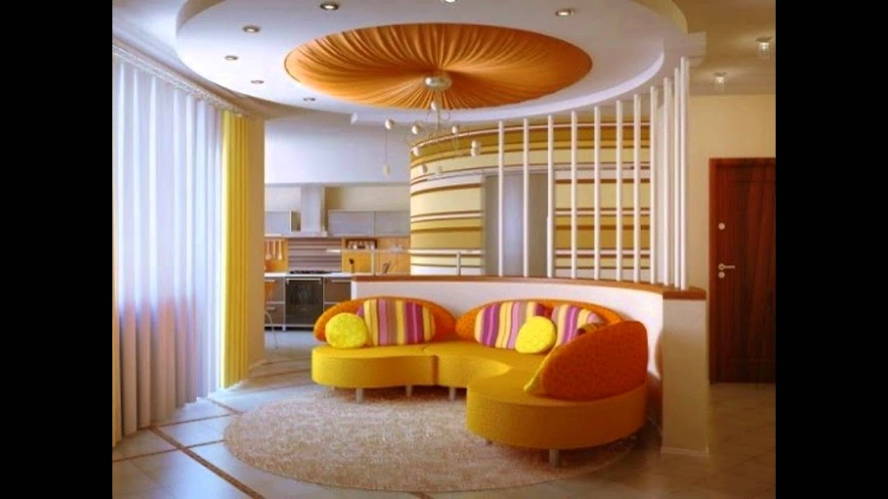 Pop designs for living room youtube for Latest living hall design