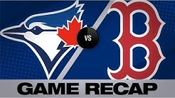Sale K's 12, Devers mashes 3-run HR in win   Blue Jays-Red Sox Game Highlights 7/18/19