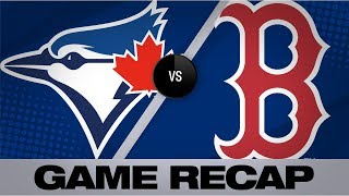sale ks 12 devers mashes 3 run hr in win blue jays red sox game highlights 71819