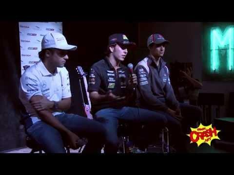 COTA Fan Forum starring Felipe Massa, Sergio Perez and Esteban Gutierrez