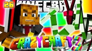 Minecraft CRAZY CRAFT 3.0 - BIG BERTHA (Best Sword In The Game) #26