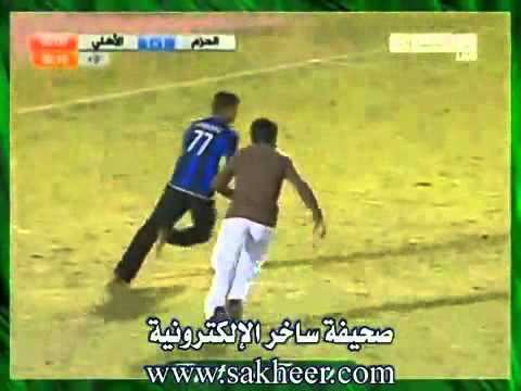 funny saudi in football stadium