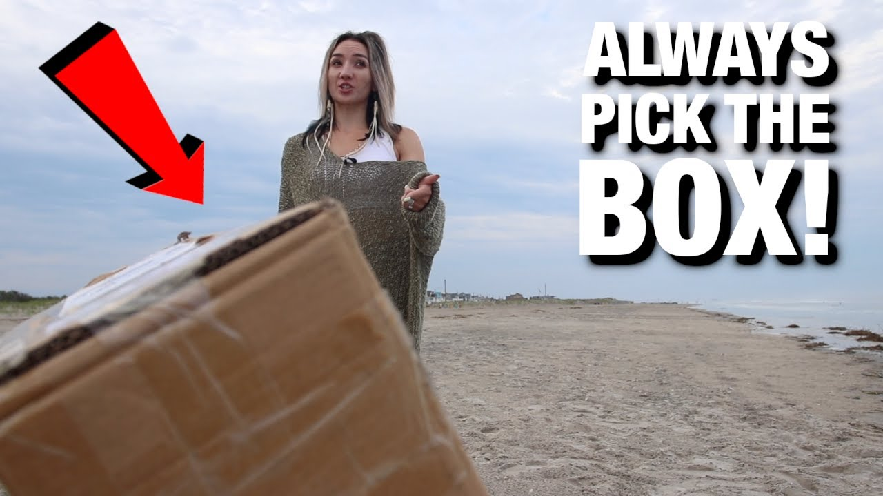 MYSTERY Box FOUND on Beach WHAT'S INSIDE?