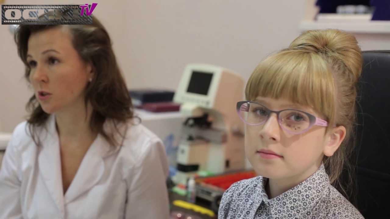 Как подобрать очки ребенку? - YouTube
