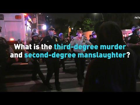 What Do 2nd-Degree Murder, 3rd-Degree Murder, Manslaughter ...