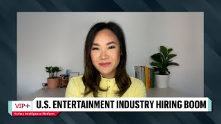 Entertainment Industry Leading U.S. Jobs Recovery According to Monthly Employment Report