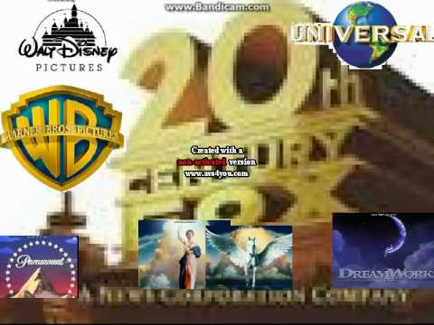 20th Century Fox Warner Bros  Universal Columbia Tristar Walt Disney Paramount And Dreamworks Tells