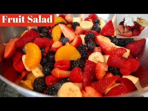 Fruit Salad Recipe: How To Make Fruit Salad With Simple Syrup (Easy!)