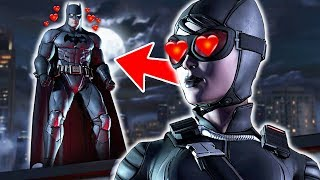 Batman vs Catwoman in Chasing Love (Online Dating PSA)