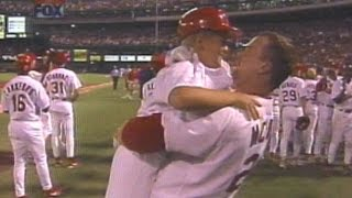 McGwire hits record-breaking 62nd home run