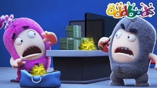 Oddbods NEW Episodes - BANK ROBBERY | The Oddbods Show | Funny Cartoons For Children