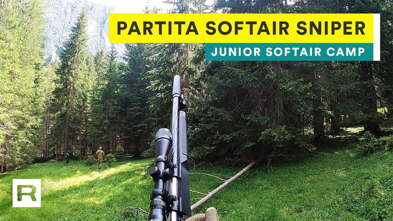 Partita Softair Sniper in alta quota • Junior Softair Camp 2020