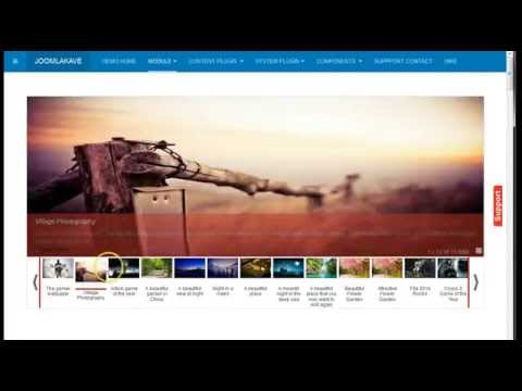 Responsive Yahoo Style Featured Article Slider For Joomla