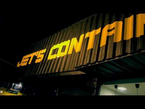 [4K]Jet Container Night Market, Phnom Penh, Cambodia 2017 - ShortFilm