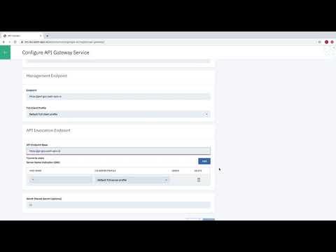 IBM API Connect v2018.x - MultiCloud Demo Part 1 - Cloud Management