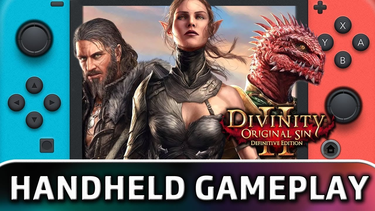 Divinity: Original Sin 2 – Definitive Edition | 10 Minutes in Handheld MODE on Nintendo Switch