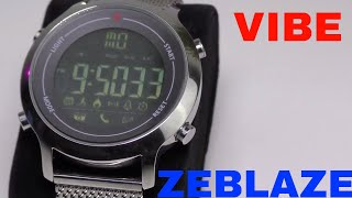 Zeblaze Vibe RECENSIONE- Review ENG SUB A VERY GOOD SCREEN!