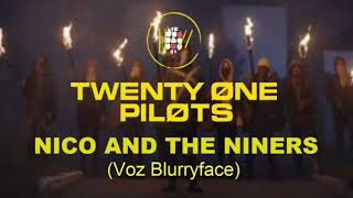 Nico And The Niners con la vos de Blurryface