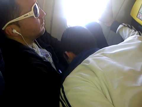 Blowjob on airplane