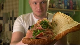 Сэндвич с хамоном. САНКЦИОННО!