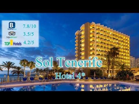 Sol Tenerife 4*| Испания, о.Тенерифе| Обзор отеля 2019 года