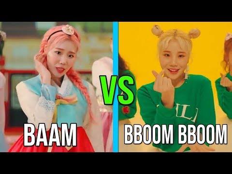 MOMOLAND BAAM VS MOMOLAND BBOOM BBOOM (RAP, VOCAL,DANCE,CLOTHES AND MORE)