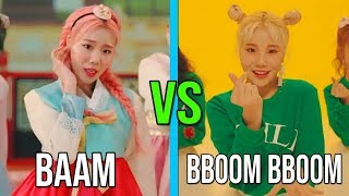 MOMOLAND BAAM VS MOMOLAND BBOOM BBOOM (RAP, VOCAL,DANCE,CLOTHES AND MORE)