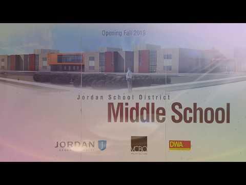The South Jordan Middle School gymnasium floor installation. (Promo)