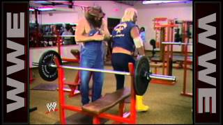 Hillbilly Jim is shown supporting Sgt. Slaughter and training with Hulk Hogan