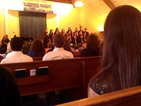 Tuscaloosa Christian School Senior High Choir ACEA Competition