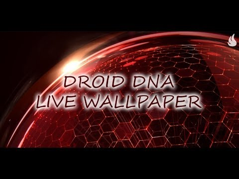 Droid dna live wallpaper youtube - Droid live wallpaper ...
